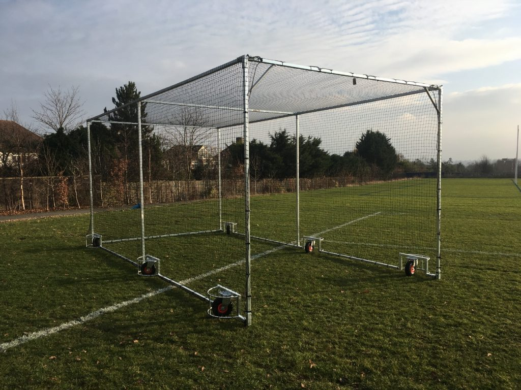 Pro Mobile Cricket Cage and Net