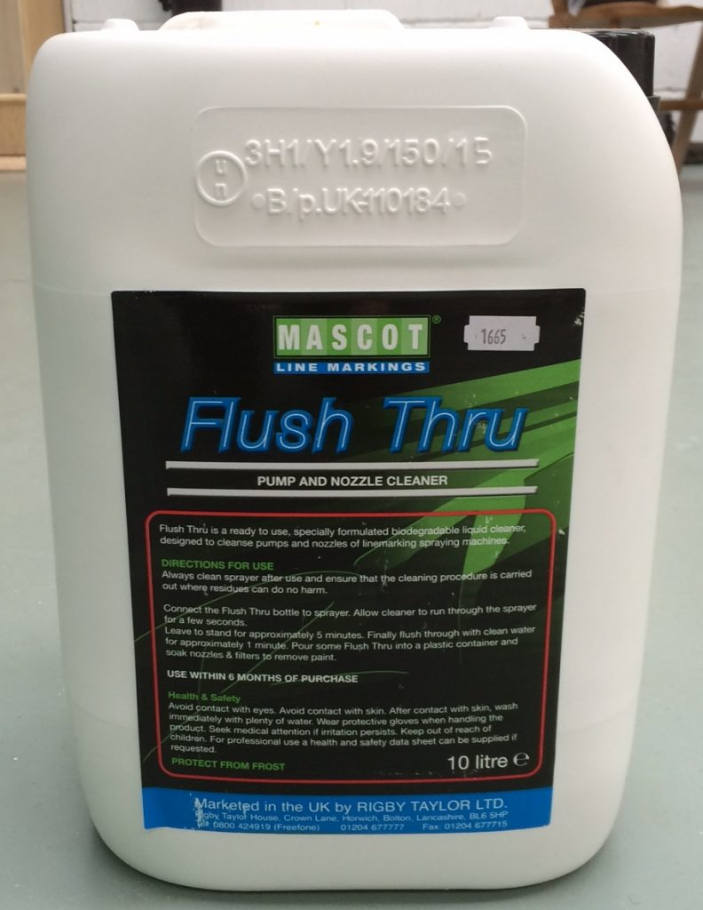 Duraline Flush Thru Liquid Cleaner