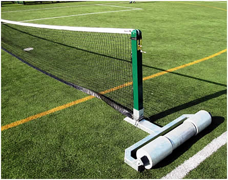 Selfweighted Steel Tennis Posts