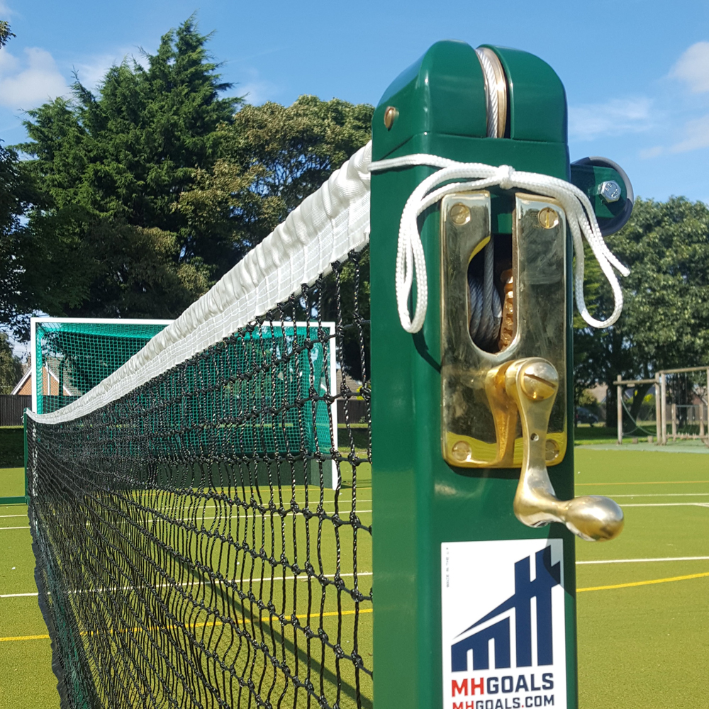 Socketed Steel Square Tennis Posts