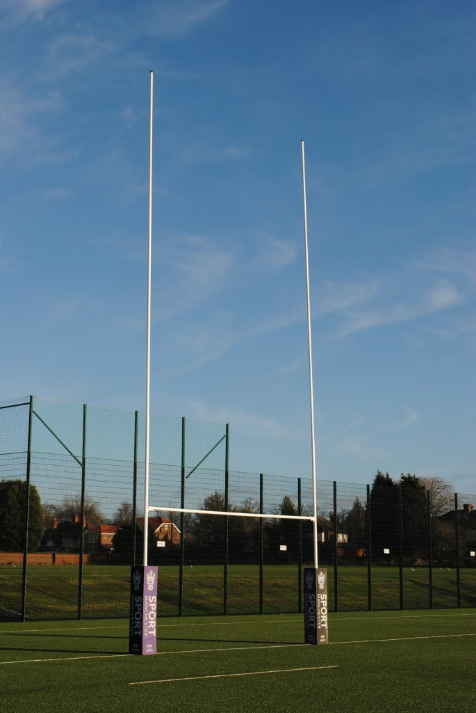 Rugby Goals - Aluminium Hinged - buy direct from MH Goals