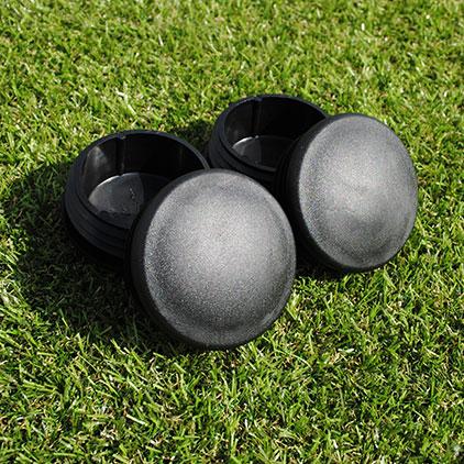 60mm Plastic Caps For Steel Sockets (Set Of 4)