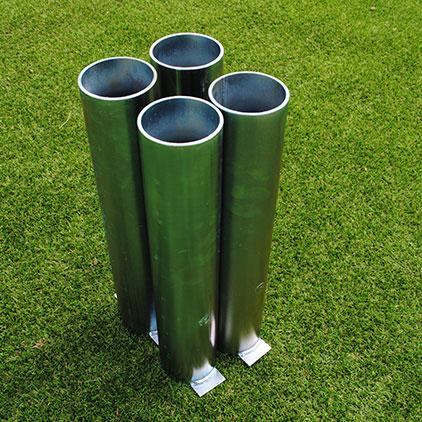 Standard 76mm Sockets For Steel Goals (Set Of 4)