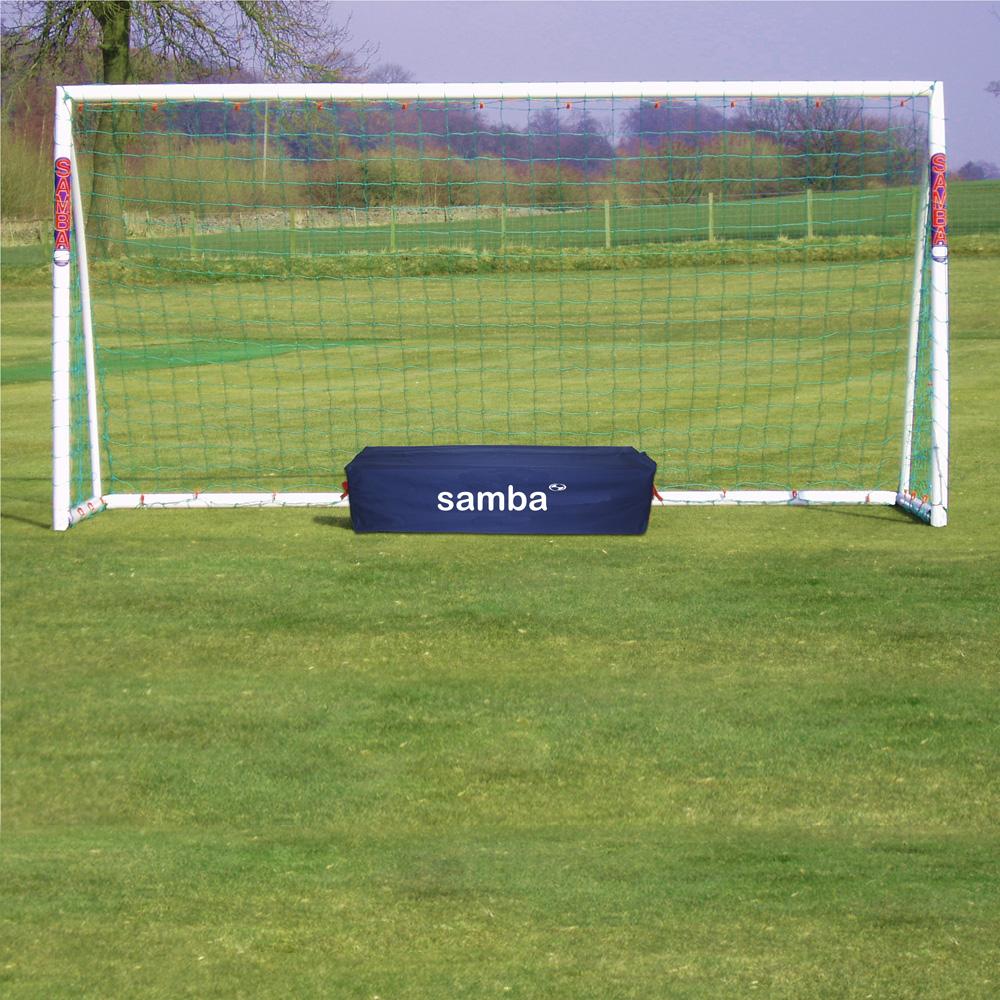 Samba 12 x 6ft Mini Soccer Straight Runback Goal