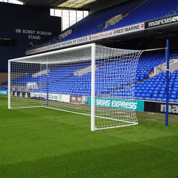 Pro Stadium 24x8 Box Football Goal Package: 11-A-Side ...