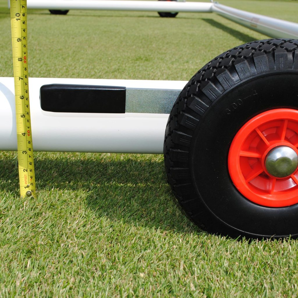 Ball Lock Lift : Set of lift and lower wheels mhgoals ltd