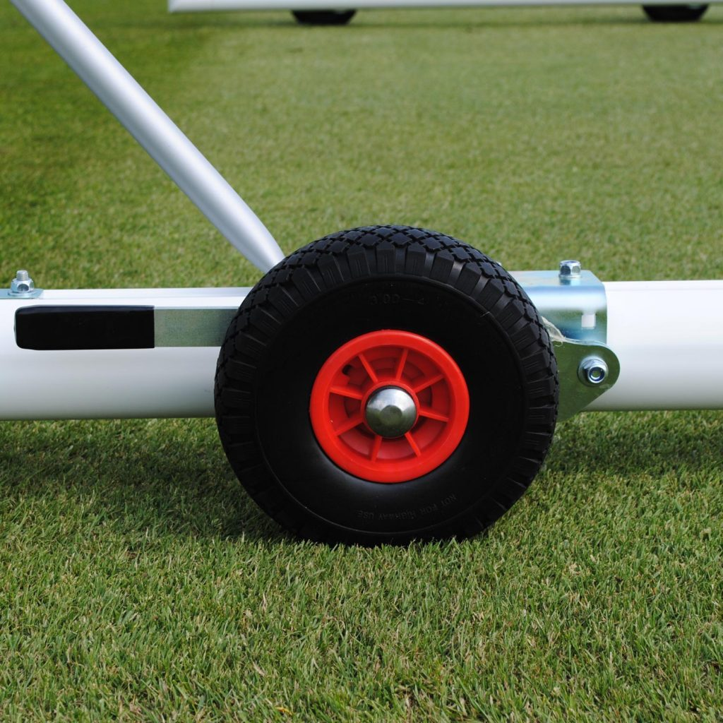 Set of 4 Lift and Lower Wheels for 5-A-Side Goals