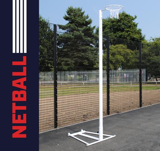 International Freestanding Netball Posts