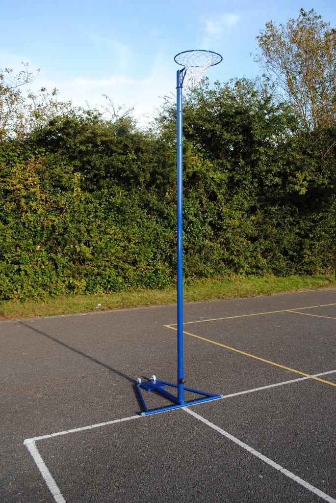 Regulation Freestanding Netball Posts