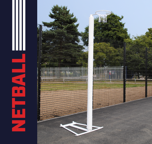 Post protectors for 50mm netball posts