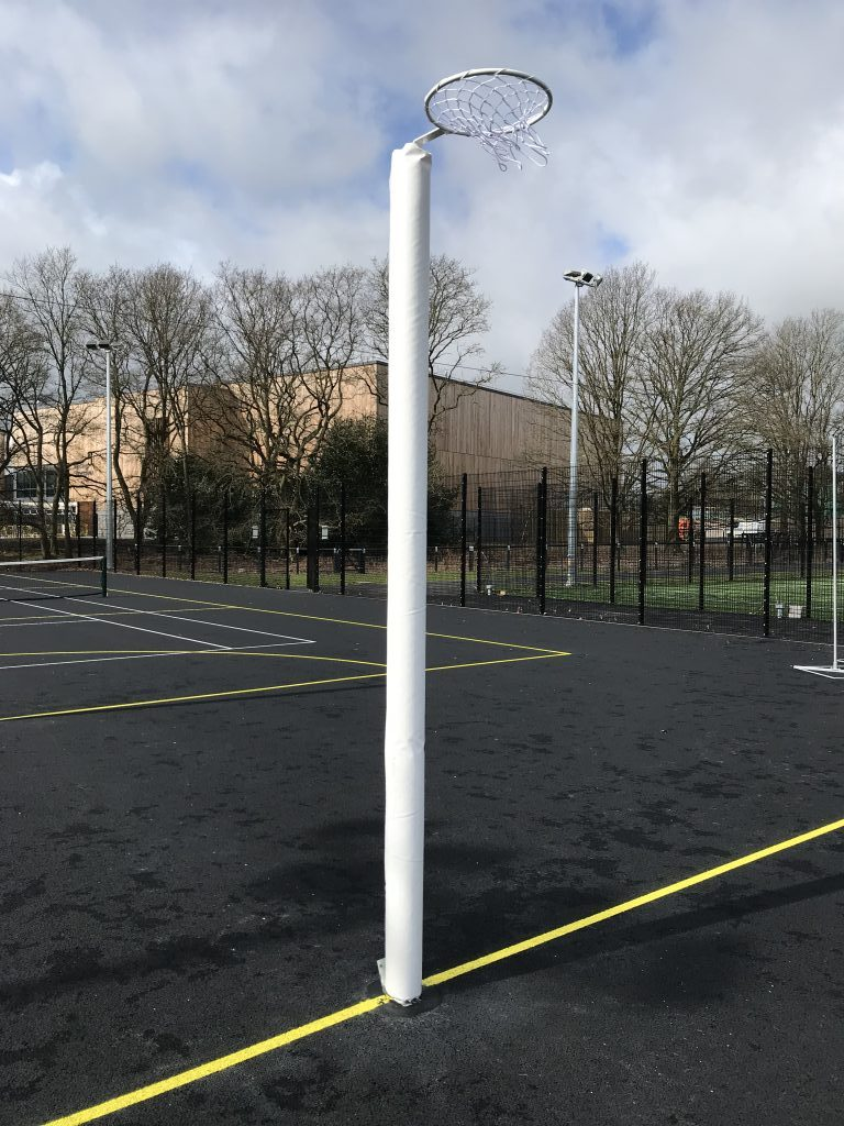 International Socketed Netball posts
