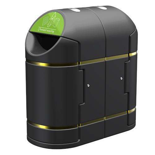 Recycling Bin - Dual Waste Litter Bin