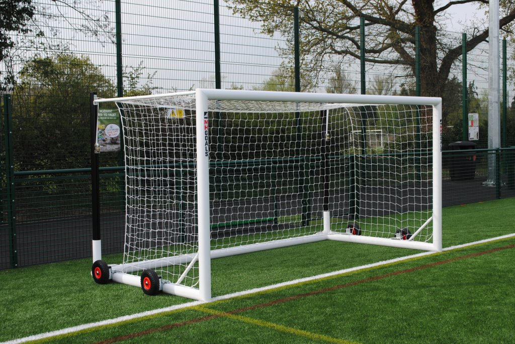 16x7 9v9 Freestanding Box Football Goals