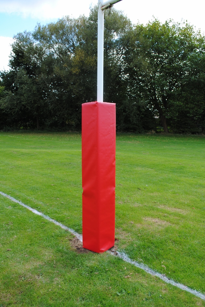 Single Colour Rugby Post Protector