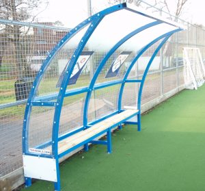 MH Goals slim line team shelter