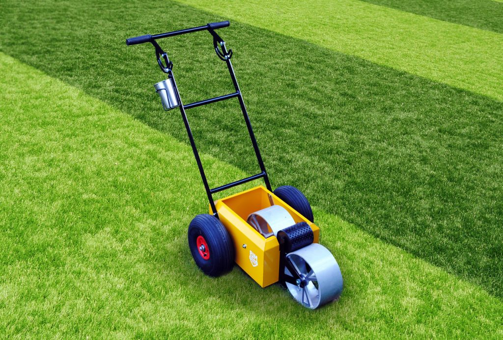 Dimple Line Marker with Pneumatic Tyres