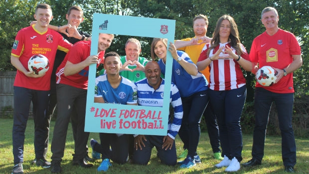 The launch of Love Football Live Football