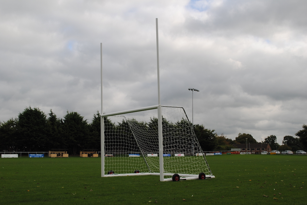 Aluminium Self-Weighted Junior Gaelic Goal Package