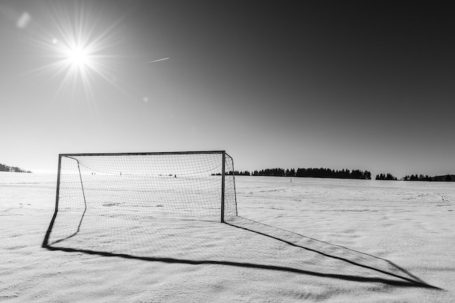 Make sure you carry out a regular goalpost safety check this winter