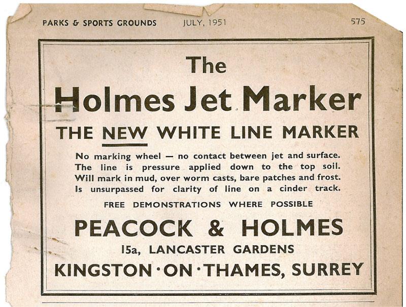Pressure Jet Markers 1st advert