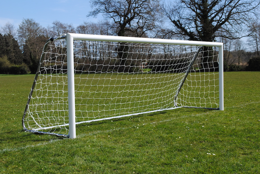 12x4 Lightweight Freestanding Folding Outdoor Goal Package