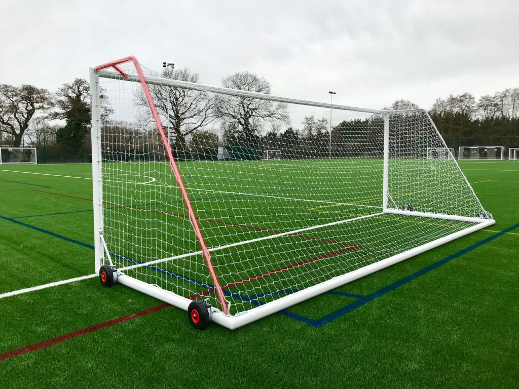 Net Supports for Freestanding Goal
